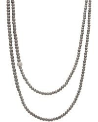 Faystone - Saturn Necklace - Lyst