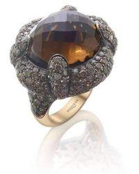 Niquesa Fine Jewellery - Venice Scaramuccia Smoky Quartz Ring - Lyst