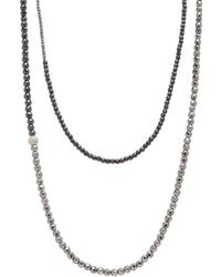 Faystone - Libra Necklace - Lyst