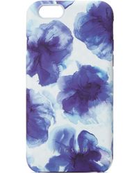 Jigsaw - Ink Blue Floral Iphone 6 Case - Lyst