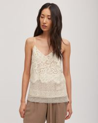 Jigsaw - Layered Lace Camisole - Lyst