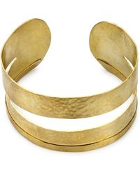 Jigsaw - Made Cut Out Hammered Cuff - Lyst