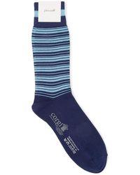 Jigsaw - Alternating Stripe Sock - Lyst