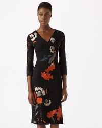 Jigsaw | Nordic Floral Viola Lace Dress | Lyst