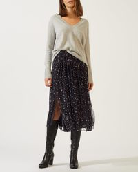Jigsaw - Mini Blossom Gathered Skirt - Lyst