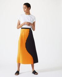 Jigsaw - Block Circle Skirt - Lyst