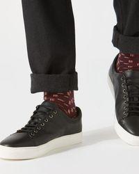 Jigsaw - Cross Hatch Socks - Lyst