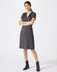 Jigsaw - Florette Print Tea Dress - Lyst