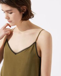 Jigsaw - Lace Insert Camisole - Lyst
