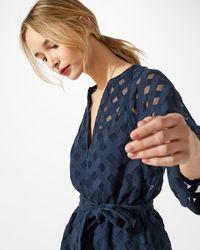 Jigsaw - Lace Weave Dress - Lyst