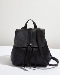 Jigsaw - Blake Leather Backpack - Lyst