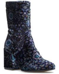 275 Central - Stacey Boot Cosmos Notte/tamp Velvet - Lyst