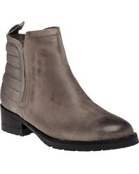Steve Madden - Graant Leather Ankle Boots - Lyst