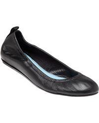 Lanvin - Ballet Black Leather Flat - Lyst