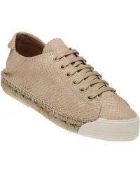 275 Central - Solo Snake Print Lace-up Sneaker Savanna - Lyst
