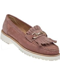 275 Central - 3208 Pink Suede Loafer - Lyst