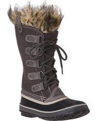 Sorel - Joan Of Arctic Boot Grey Suede - Lyst