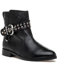 Robert Zur - Jodphur Stud Boot Black Leather - Lyst