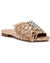 Robert Clergerie - Amazing Sandal Natural - Lyst