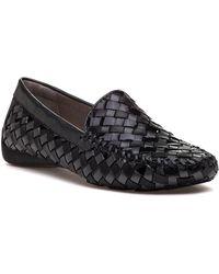 Robert Zur - Venetian Black Leather Loafer - Lyst