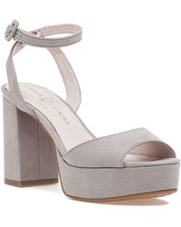 Chinese Laundry - Theresa Sandal Smoke Grey Microsuede - Lyst