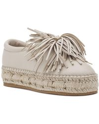 J/Slides - Raoul Espadrille Beige Leather - Lyst