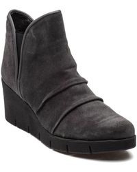 The Flexx - Spaceless Smoke Grey Suede Boot - Lyst