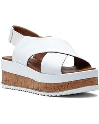 275 Central - 8837 Sandal White Leather - Lyst