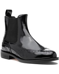 275 Central - D8115 Boot Black Leather - Lyst
