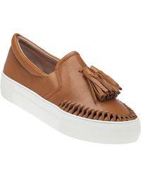 J/Slides - Aztec Tan Leather Slip On - Lyst