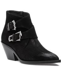275 Central - H3 Buckle Boot Black Suede - Lyst