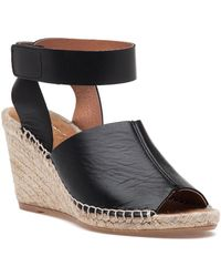 275 Central - Quine Mx Black Leather Espadrille - Lyst
