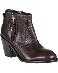 275 Central | Adam Leather Ankle Boots | Lyst