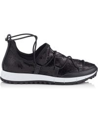 Jimmy Choo - Andrea Strappy Mesh Trainer - Lyst