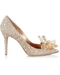 Jimmy chooAvril 100 embellished pumps