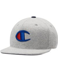 Champion - Reverse Weave Hat Baseball Hat - Lyst