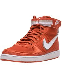 adcd9c9c5348 Lyst - Nike Vandal Supreme Trainers in Red for Men