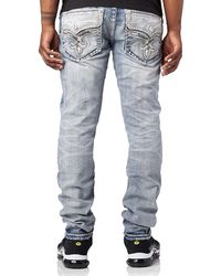 Rock Revival - Charles Alt Straight Jeans - Lyst