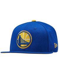 6559d134 KTZ Golden State Warriors Wowie Bucket Hat in Blue for Men - Lyst
