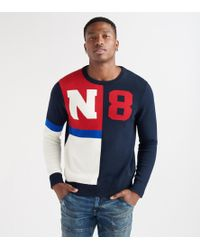 Nautica - N83 Block Crewneck Sweater - Lyst