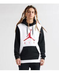 94a4fbd70d2cd6 Nike Jumpman Air Fleece in White for Men - Lyst