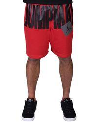 23b94597f3dd Nike Jumpman Air Fleece Shorts in Red for Men - Lyst