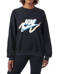 Nike - Sportswear Archive Logo Sweatshirt - Lyst