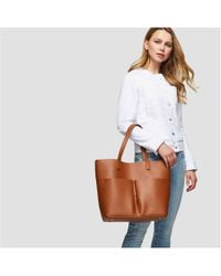 Joe Fresh | Faux Leather Tote | Lyst