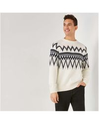 Joe Fresh - Men's Fair Isle Sweater - Lyst