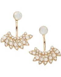 Joe Fresh - Ivory Stone Ear Jackets - Lyst