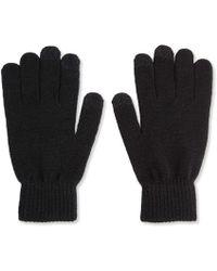 Joe Fresh - Men's Knit Technical Gloves - Lyst