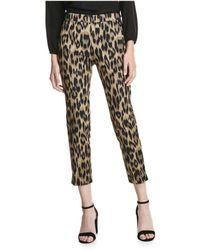 Joe Fresh - Leopard Pant - Lyst