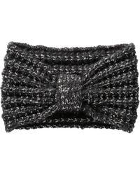 Joe Fresh - Metallic Knit Headband - Lyst