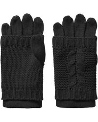 Joe Fresh - Cable Knit Gloves - Lyst